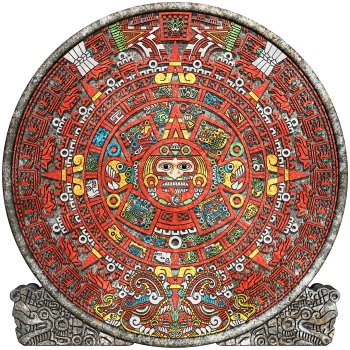 Ancient Mayan Accomplishment Calendar