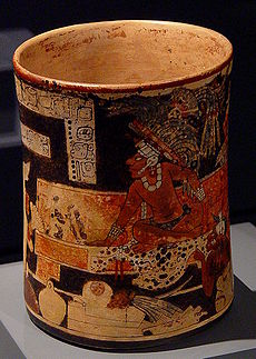 Ancient Mayan Ceramic