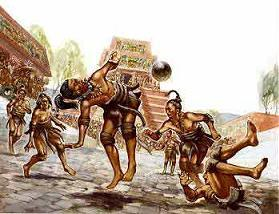Ancient Mayan Games Sports
