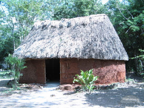 Ancient Mayan People and their Houses