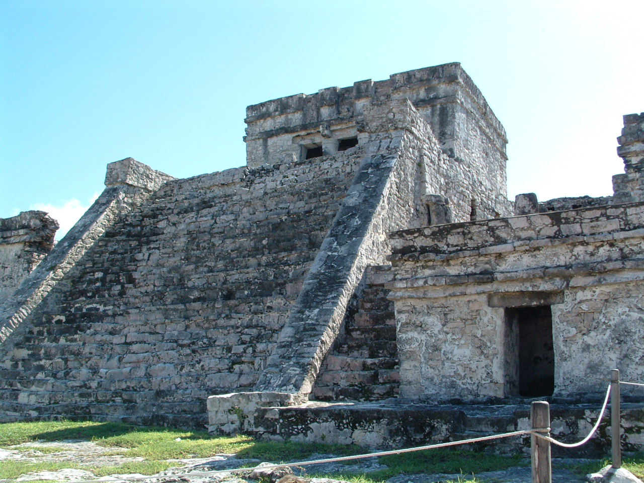 Ancient Mayan Temples at Tulum